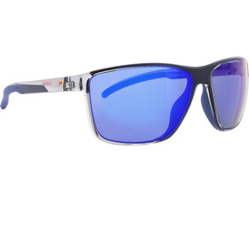 Red Bull SPECT Drift Gafas de Sol Hombre, x'tal grey/smoke with blue mirror polarized